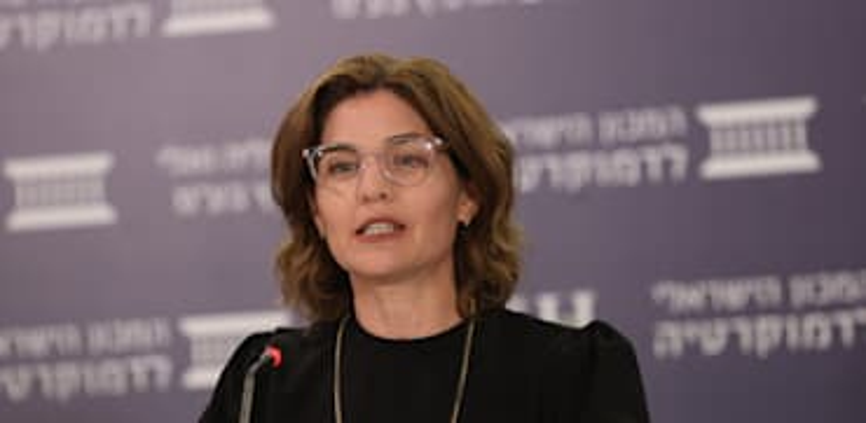 השרה להגנת הסביבה תמר זנדברג / צילום: המכון הישראלי לדמוקרטיה