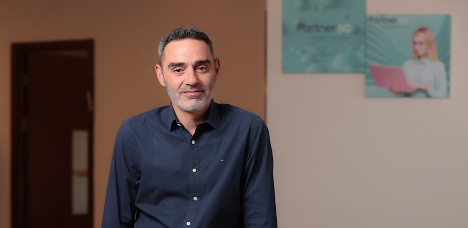 אבי צבי, מנכ''ל פרטנר / צילום: ישראל שם טוב