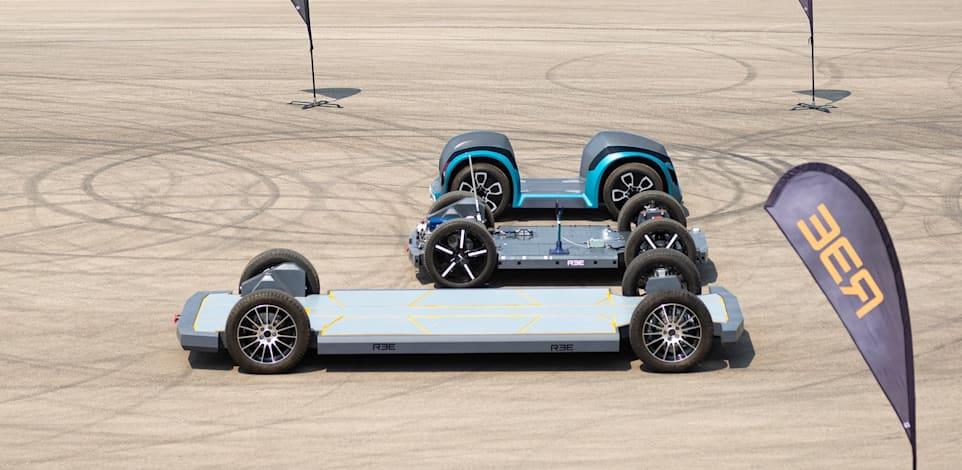 הפלטפורמה של REE לרכב חשמלי / צילום: Reuters, REE/Cover Images