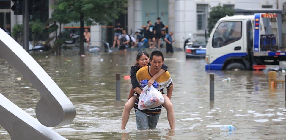 והפעם, שיטפונות בסין