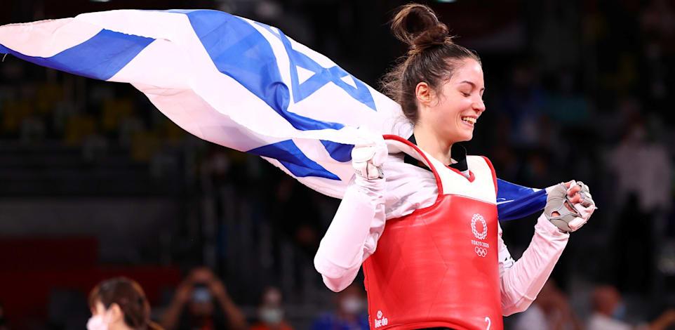 מדליה ראשונה לישראל בטוקיו 2020