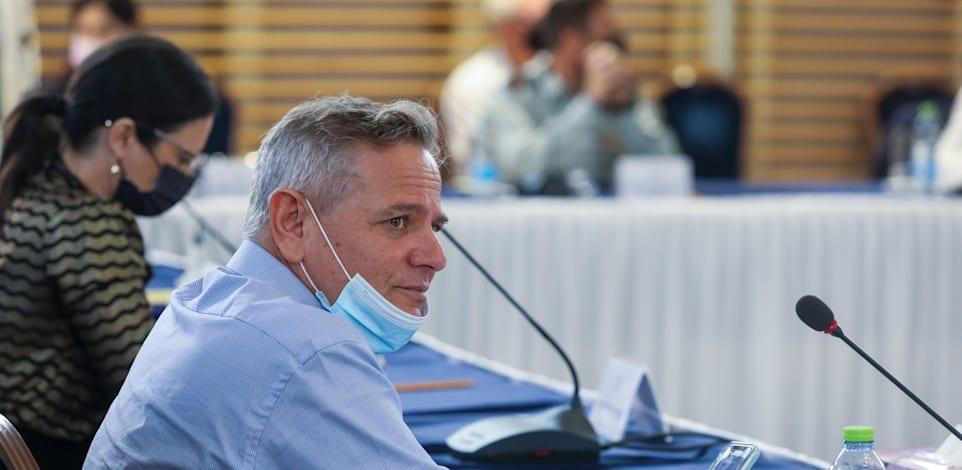 ישיבת קבינט קורונה / צילום: מארק ישראל סלם - הג'רוזלם פוסט
