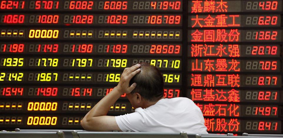 ירידות בבורסות אסיה / צילום: Shutterstock, Frame China