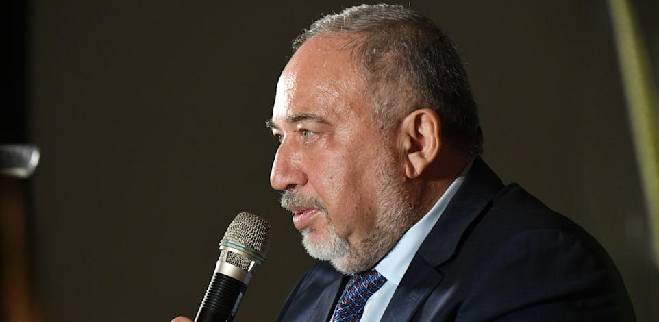 שר האוצר אביגדור ליברמן בכנס Gexcutives / צילום: איל יצהר