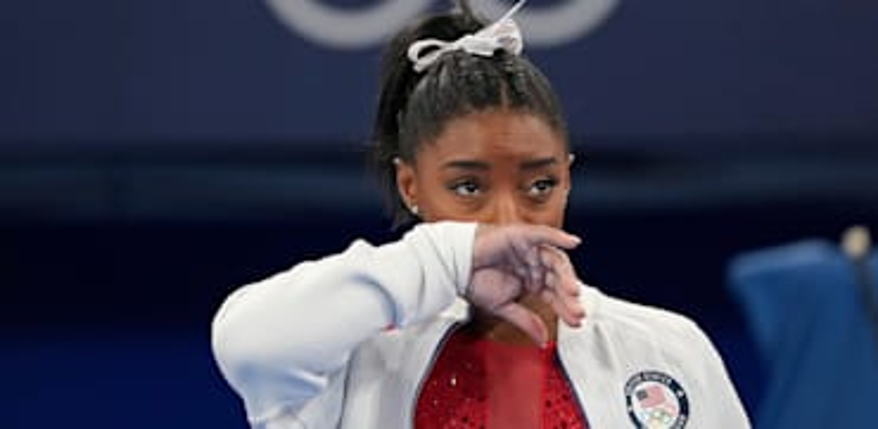 סימון ביילס / צילום: Associated Press, Ashley Landis