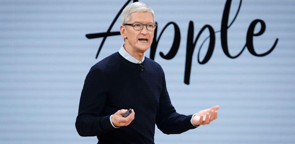 """טים קוק, מנכ""""ל אפל / צילום: Shutterstock, John Gress Media Inc"""