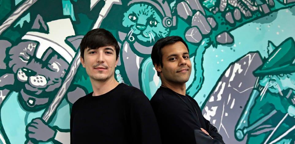 ולאד טנב (משמאל) ובאיג'ו בהאט, מייסדי רובין הוד / צילום: Associated Press, Ben Margot