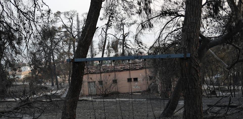 אסון טבע חמור ביוון
