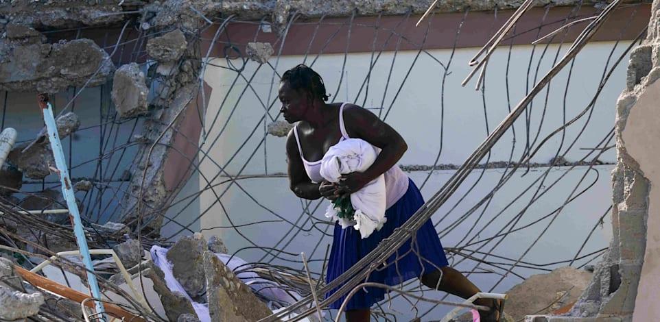 מכה קשה להאיטי