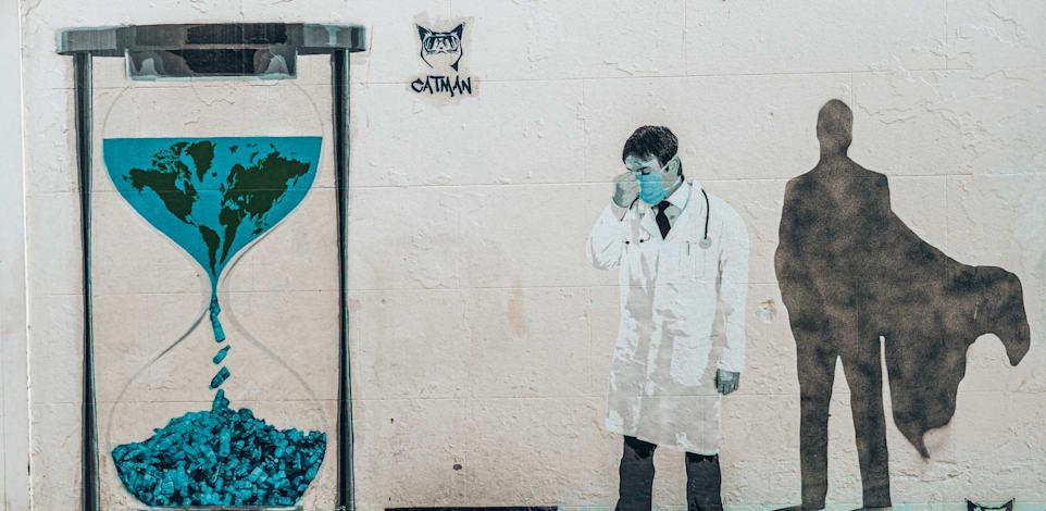 ציור קיר בנושא ההתחממות הגלובלית / צילום: Unsplash, liza-pooor