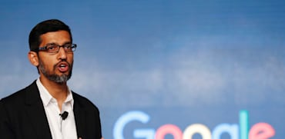 סונדאר פיצ'אי, מנכ''ל גוגל / צילום: Associated Press, Tsering Topgyal