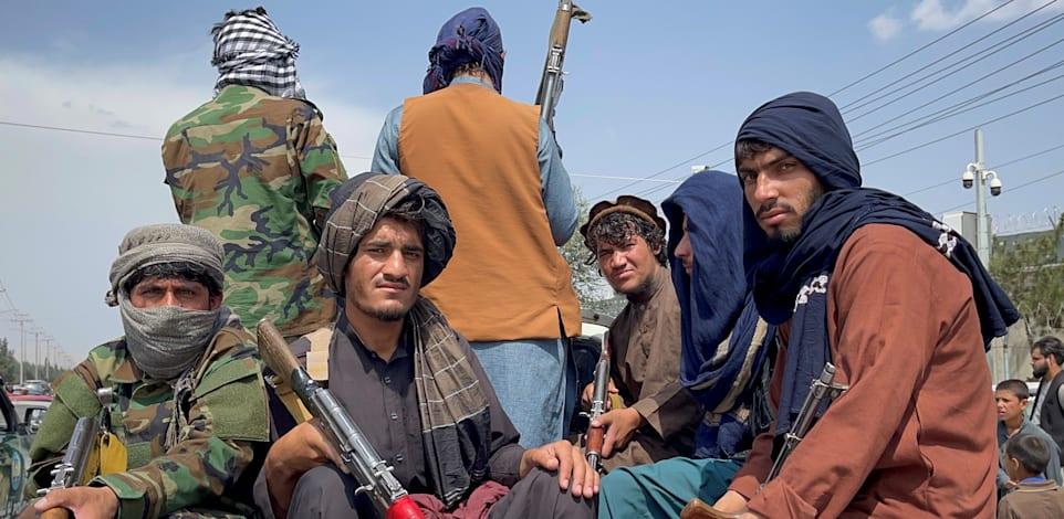 לוחמי טאליבן בקאבול / צילום: Reuters