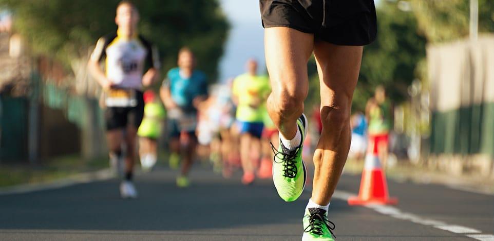 הסבירות להירשם לריצת מרתון בגיל שנגמר בספרה 9 (29, 39, 49, 59) גבוהה ב-48% ביחס לשאר הגילים / צילום: Shutterstock, Pavel1964