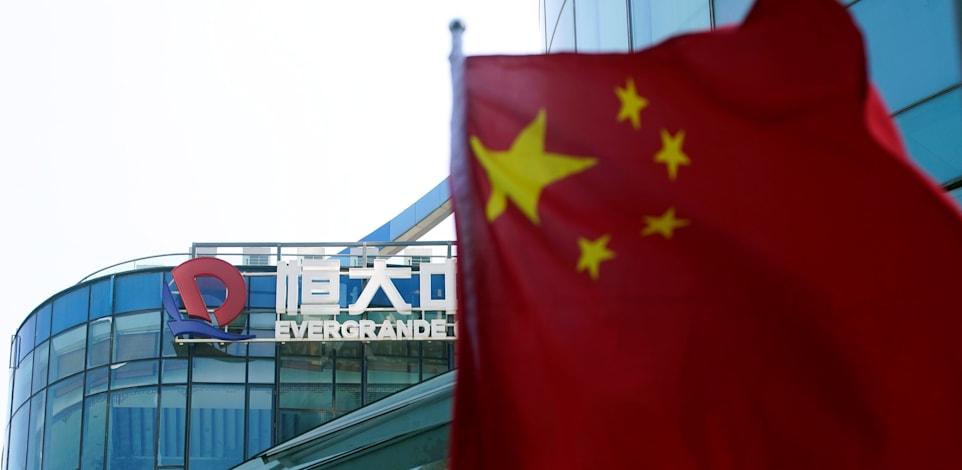 משרדי אוורגרנד בשנחאי / צילום: Reuters, Aly Song