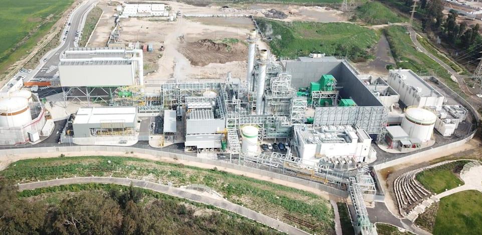 תחנת הכוח בחדרה של OPC / צילום: באדיבות החברה