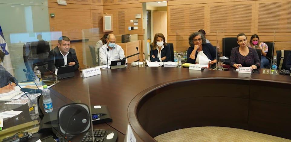 דיון העלאת גיל הפרישה לנשים בוועדת הכפסים / צילום: דני שם טוב, דוברות הכנסת