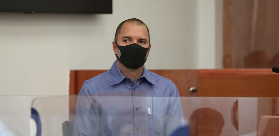 אבירם אלעד מעיד במשפט נגד ראש הממשלה נתניהו / צילום: יוסי זמיר