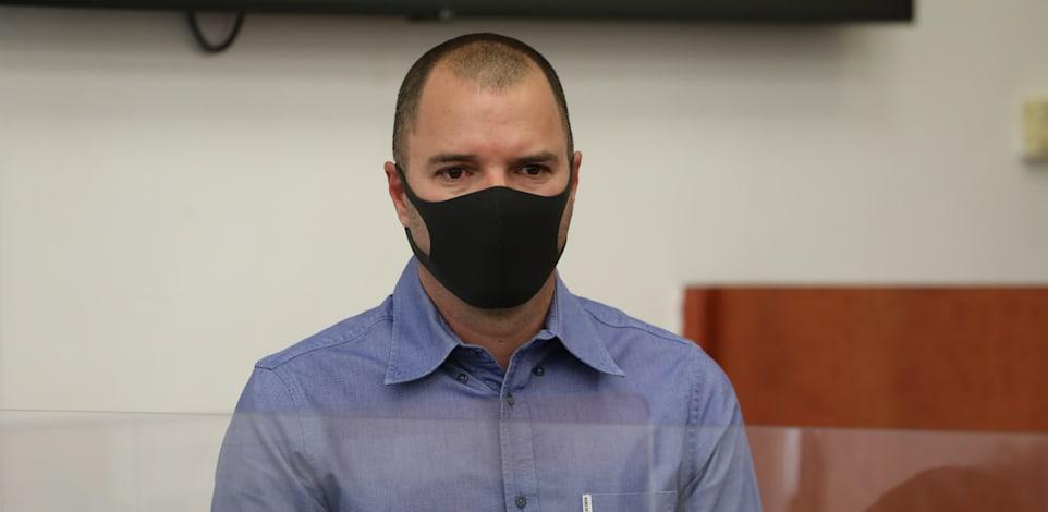 אבירם אלעד מעיד במשפט נגד ראש הממשלה לשעבר נתניהו / צילום: יוסי זמיר