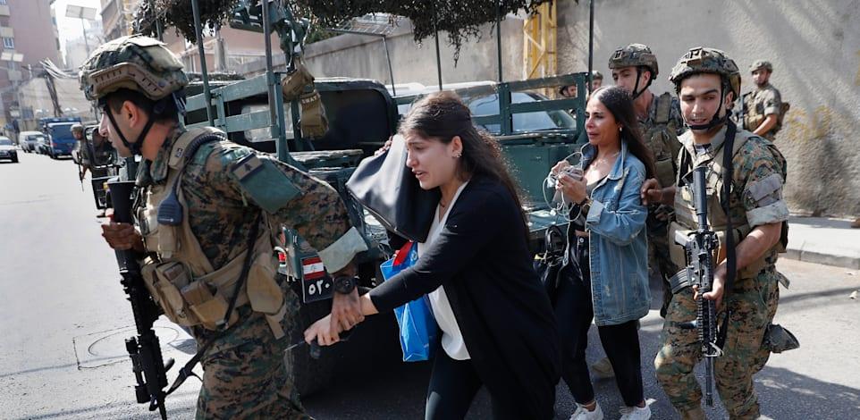 קרבות ברחובות ביירות