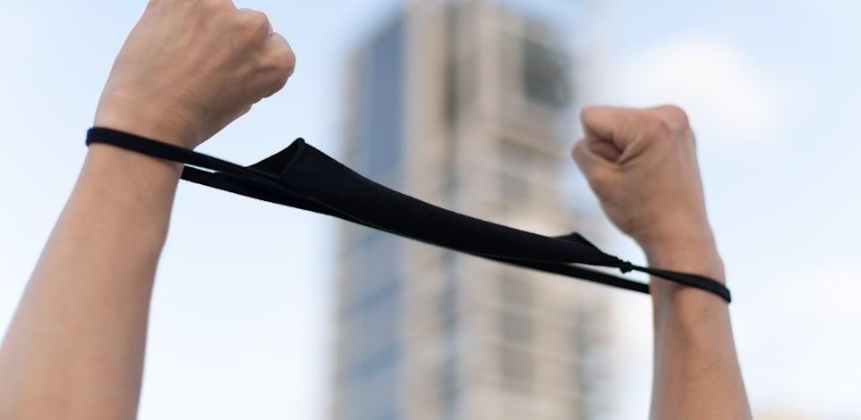 הפגנה נגד קורונה / צילום: Shutterstock