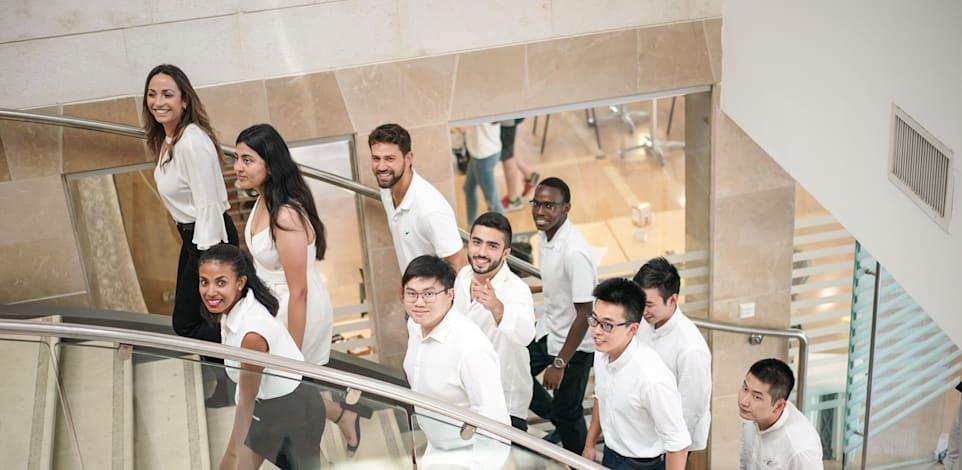 סטודנטים זרים בטכניון / צילום: ארכיון המרכז הבינלאומי בטכניון