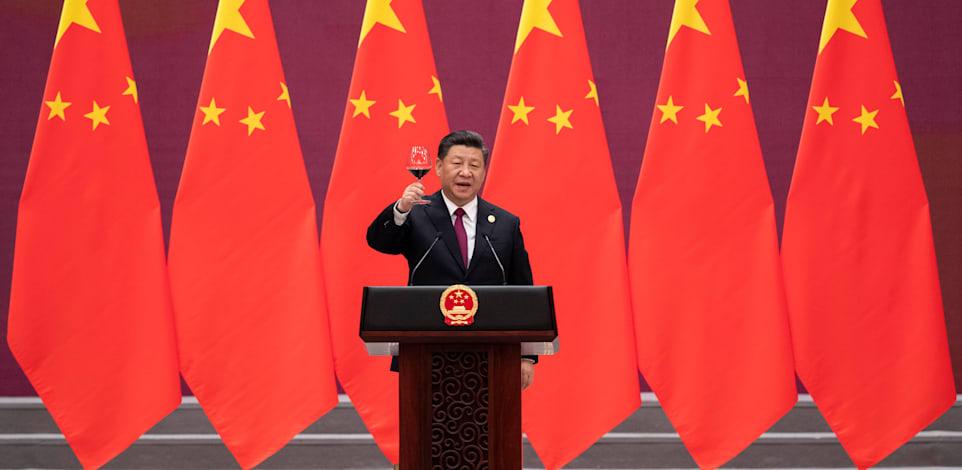 נשיא סין, שי ג'ינפינג / צילום: Associated Press, Nicolas Asfouri