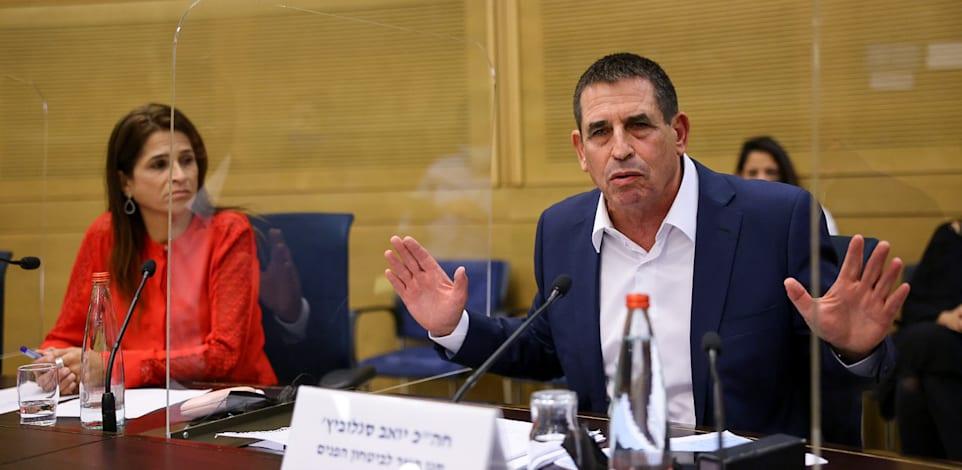סגן השר לביטחון הפנים, יואב סגלוביץ, בדיון / צילום: נועם מושקוביץ, דוברות הכנסת