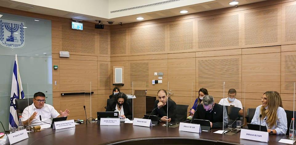 הדיון בוועדת הכלכלה, מוקדם יותר היום / צילום: נועם מושקוביץ, דוברות הכנסת