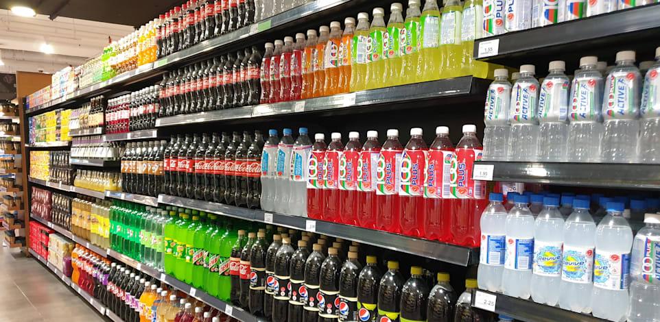 משקאות קלים בסופרמרקט / צילום: Shutterstock