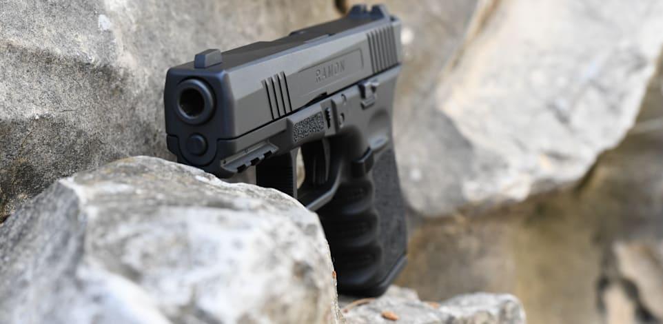 אקדח רמון של חברת אמתן / צילום: יח''צ