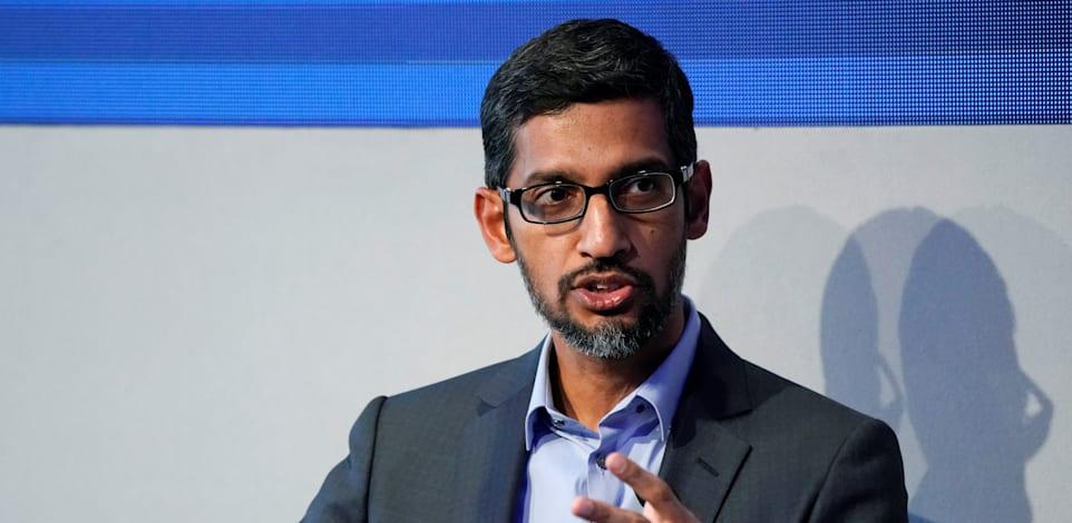 מנכ''ל גוגל סונדאר פיצ'אי / צילום: Reuters, Denis Balibouse