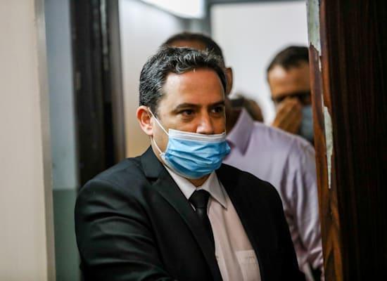 """עו""""ד עמית בכר ממשרד ש.הורוביץ, מייצג את כץ בחקירה הפלילית / צילום: שלומי יוסף"""