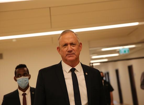 שר הביטחון, בני גנץ / צילום: אלכס קולומויסקי-ידיעות אחרונות