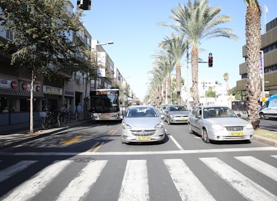 רחוב אבן גבירול, תל אביב / צילום: כדיה לוי