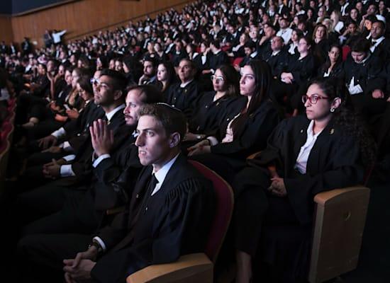 טקס הסמכת עורכי דין חדשים, בנייני האומה בירושלים ב־2019 / צילום: רפי קוץ