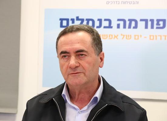 ישראל כץ / צילום: אייל פישר