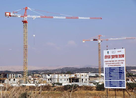 פרוייקט מחיר למשתכן לוד , בשכונת אחיסמך - חברת מגדלי הנחל / צילום: אמיר מאירי
