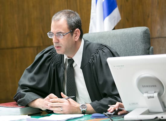השופט בני שגיא / צילום: שלומי יוסף