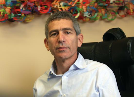 הלל קוברינסקי  - מנהל קמפיין יאיר לפיד / צילום: רוני שיצר