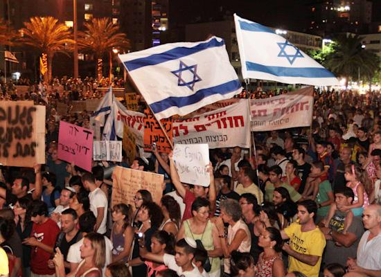 צעדת המיליון בתל אביב, ספטמבר 2011 / צילום: שאול דוד