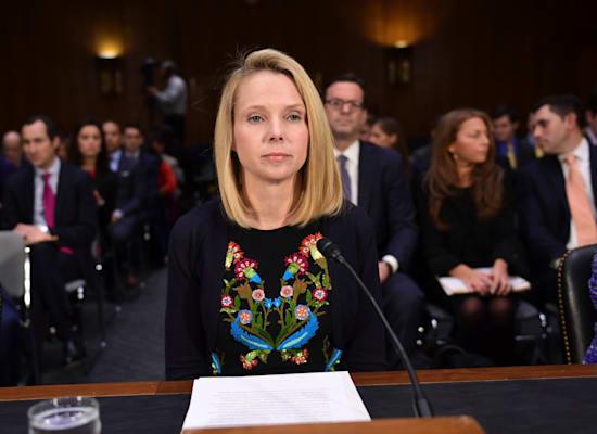 """מריסה מאייר. מנכ""""לית יאהו! לשעבר / צילום: Associated Press, Susan Walsh"""