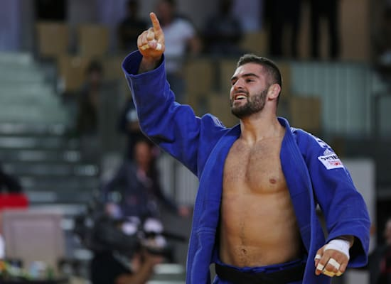 פיטר פלצ'יק. ג'ודו / צילום: Associated Press, Kamran Jebreili