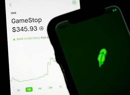 מסחר במניית גיימסטופ באפליקציית רובין הוד