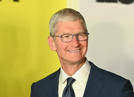 """מנכ""""ל אפל, טים קוק. שווי שיא / צילום: Reuters, Jennifer Graylo"""