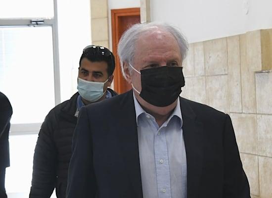 איריס ושאול אלוביץ, משפט נתניהו / צילום: ראובן קסטרו, וואלה! NEWS