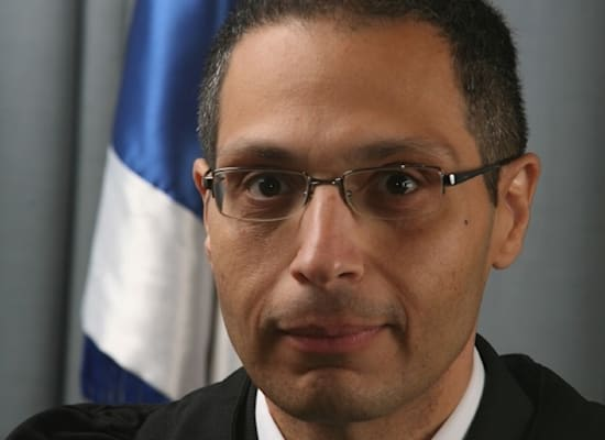 השופט מאור עודד / צילום: דוברות בתי המשפט