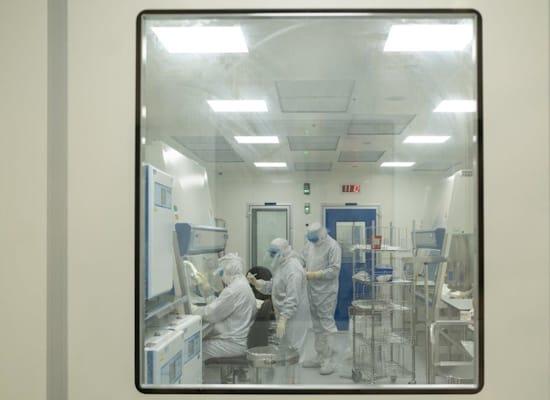 """מפעל Gamida Cell, קריית גת / צילום: יח""""צ"""