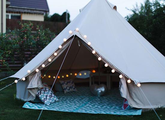 אוהלים מפונפנים / צילום: Shutterstock