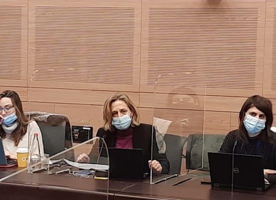 """ראש שירותי בריאות הציבור במשרד הבריאות ד""""ר שרון אלרעי פרייס / צילום: דוברות הכנסת"""