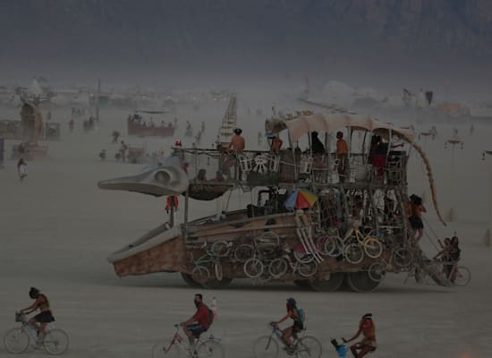 פסטיבל ברנינג־מן בנבאדה / צילום: Reuters, JIM URQUHART